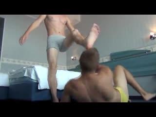 360  HOTEL HAVOC Untamed Creations Gay Boy Feet Wrestling New 2015 (1)