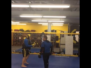 """Anthony Pettis on Instagram: """"Staying sharp & having fun!! Had to show @benaskren what it looks like when a man punches lol  @dukeroufus"""""""