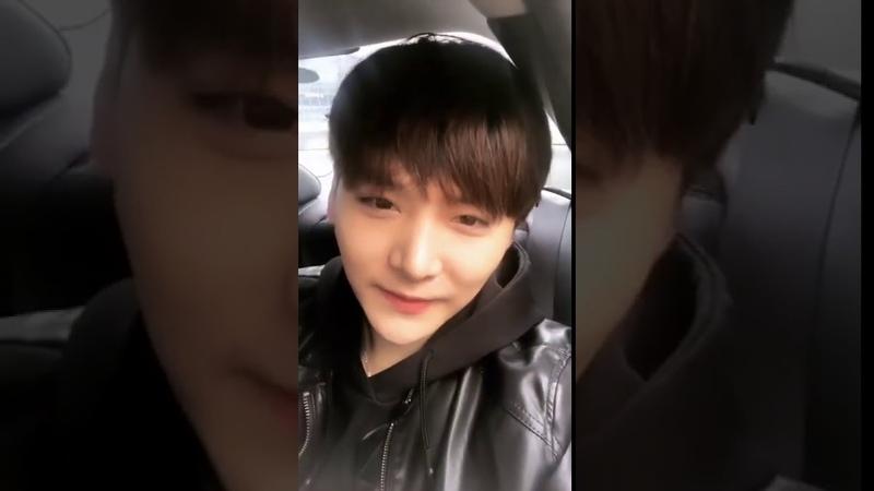 BIGFLO Sungmin (오성민) Instagram Live [190325]