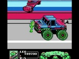 Playing Teenage Mutant Ninja Turtles 3 the Manhattan project (NES) full walkthrough