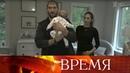 Александр Овечкин пригласил съемочную группу Первого канала в гости и познакомил с сыном.
