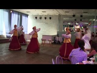 Вологодские кружева на свадьбе Юли 18.08.18