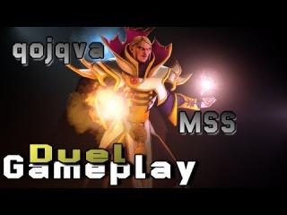 Pro Invoker Gameplay   qojqva vs. MSS   DotA 2