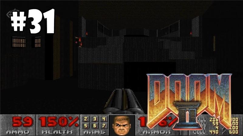 Doom II Hell on Earth прохождение игры - Уровень 29 The Living End (All Secrets Found)