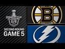 Boston Bruins vs Tampa Bay Lightning – May. 06, 2018   Game 5   Stanley Cup 2018 . Обзор