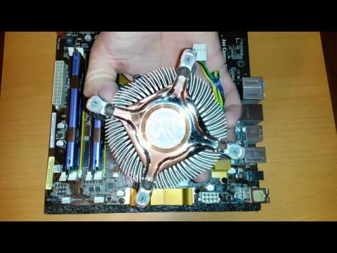 Как правильно нанести термопасту на процессор