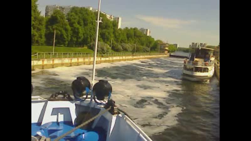 16.05.2019г. шлюз на Москве реке