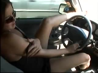 Nude in public and mastrubation drive car