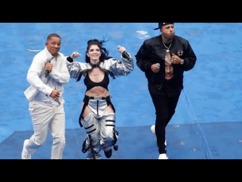 Will Smith and Nicky Jam Performs at Fifa World Cup Closing Ceremony 2018