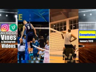 Best volleyball vines of january 2019. compilation.