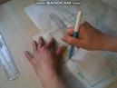 Шью бюстгальтер большого размера Построение чашки Урок №3 ч 1