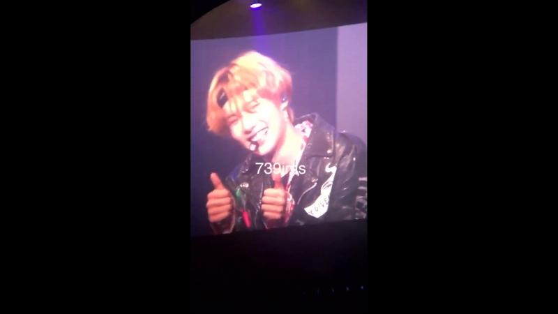 [VK][180518] MONSTA X - Talk (Minhyuk focus) @ Japan 1st Live Tour 2018 in Tokyo