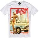 Дизайнерская футболка Moscow city от бренда ArtZolotoy.  0. 1290.