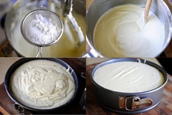 Чизкейк в духовке рецепт с фото