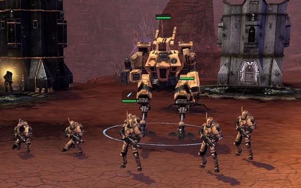 Warhammer 40,000: Dawn of War PC Downloads GameWatcher