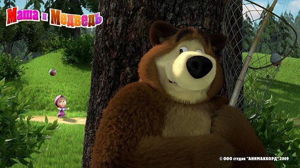 b Маша и Медведь /b- b 4 /b серия (2009) TVRip :: NoNaMe.