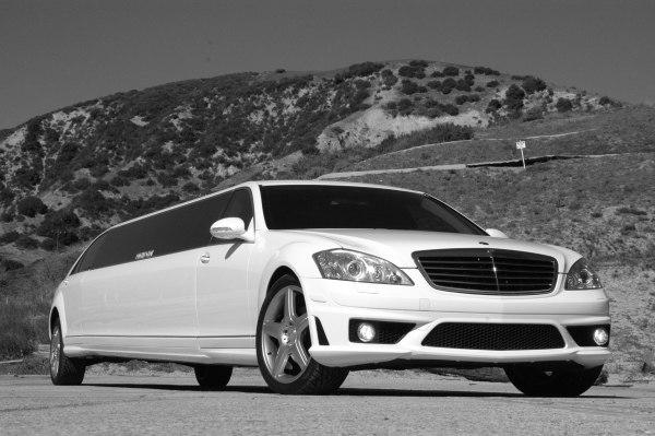 Лимузин Mercedes W221 S600 репли…