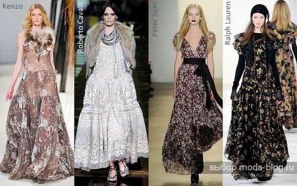 женские платья лето 2012