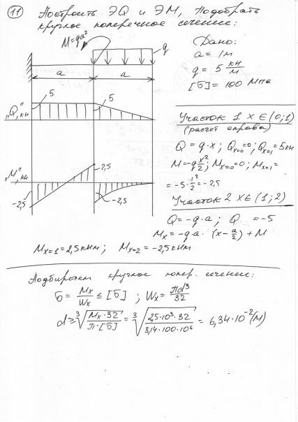 J решебник задач по сопромату
