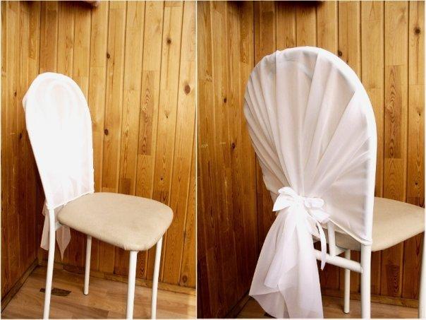Как сделать чехлы на стулья на свадьбу 597