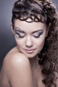 Вечерний макияж для пожилых женщин