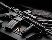патроны, оружие, Автомат обои на рабочий стол.