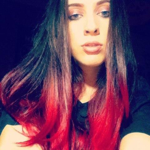 Покрашенные волосы в два цвета фото - 639