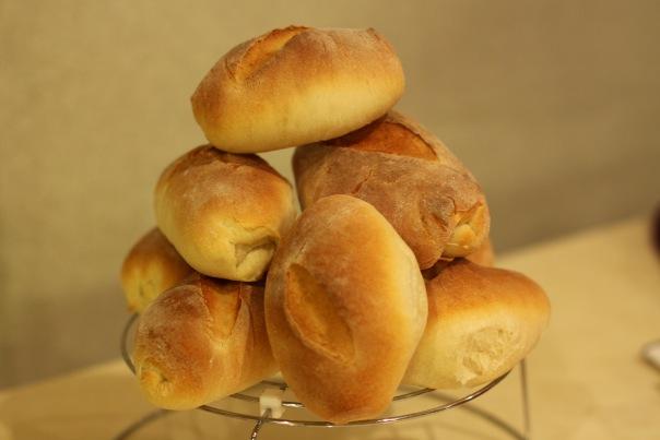 Итальянский хлеб на кефире в хлебопечке