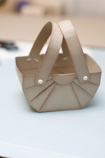 Как сделать красивую корзинку своими руками из бумаги - Блог - PrizivOnline