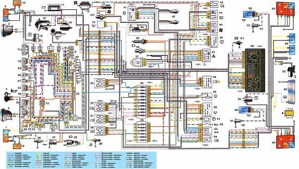 Принципиальная схема электрического питания насоса.  Скачать электрическую схему автобуса нефаз.