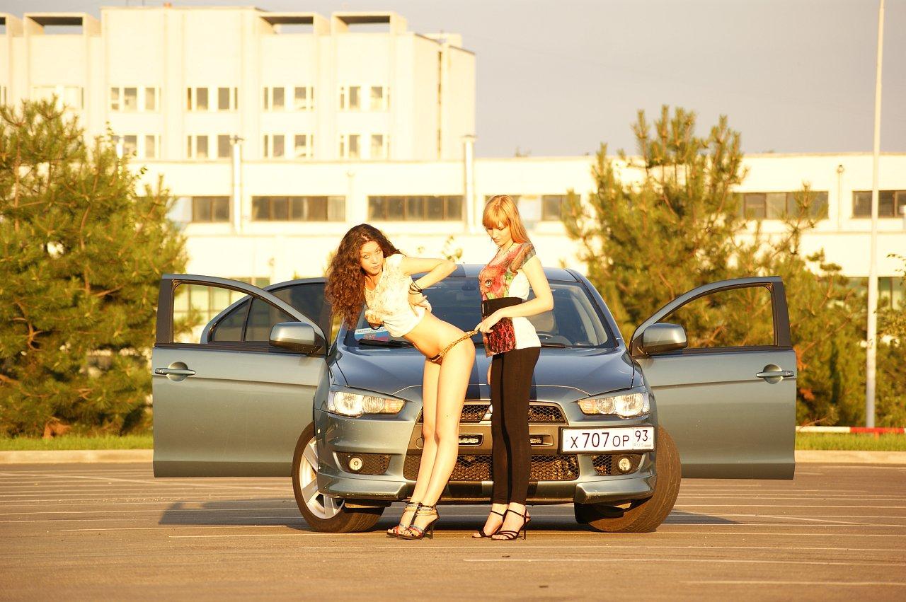 Русские девушки и машины фото 6 фотография