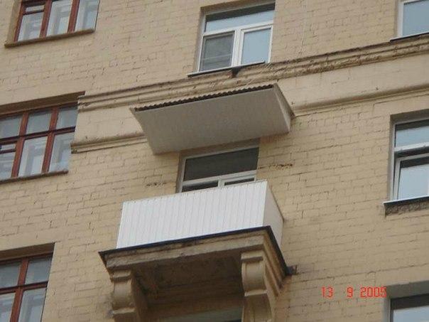 Сделать балкон без остекления. - остекление - каталог статей.
