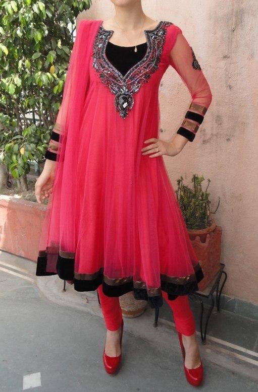 Как сшить платье из сари