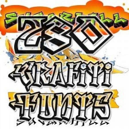 Скачать 280 граффити шрифтов с turbobit net
