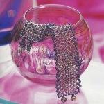 Плетеный браслет-сеточка Простая в освоении техника бисероплетения дает возможность создавать великолепные украшения...