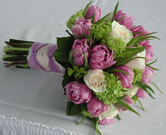 Wedding Saloon :: свадебный букет из розовых