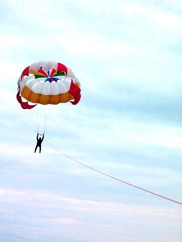 Как сделать летающий парашют 30