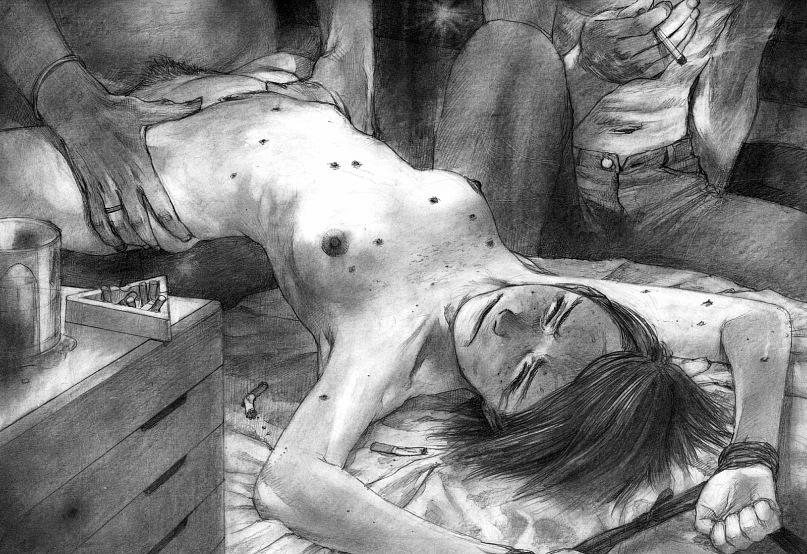 фото пытки девушек