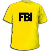fbi футболки.