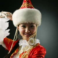 Фотосессия в казахских костюмах.