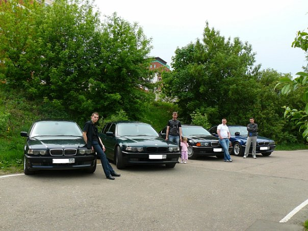 BMW E38 Club - как все было на самом деле или спасибо,что есть на свете друзья.