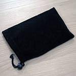 Черный бархатный чехол для навигатора с экраном 4,3 или 5 дюймов.