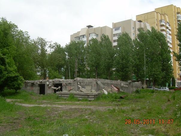 Фундамент в Комсомольском парке (Пятигорск)