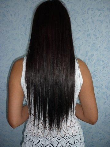 Филировка волос длинных