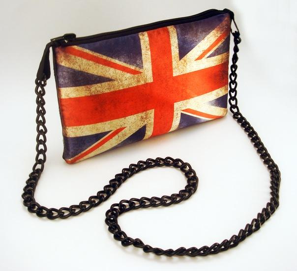 Клатч британский флаг