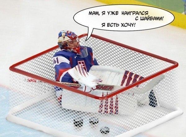 прикольные картинки про хоккей с шайбой
