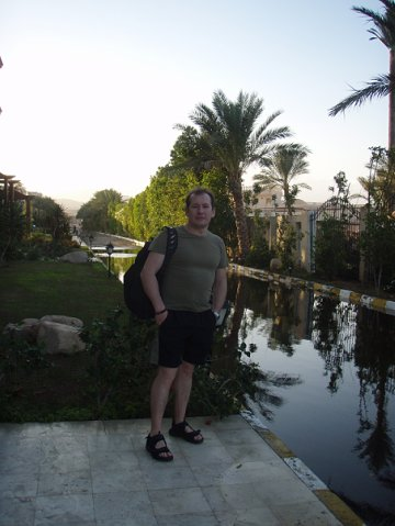 Египет. Дорожка после дождя.