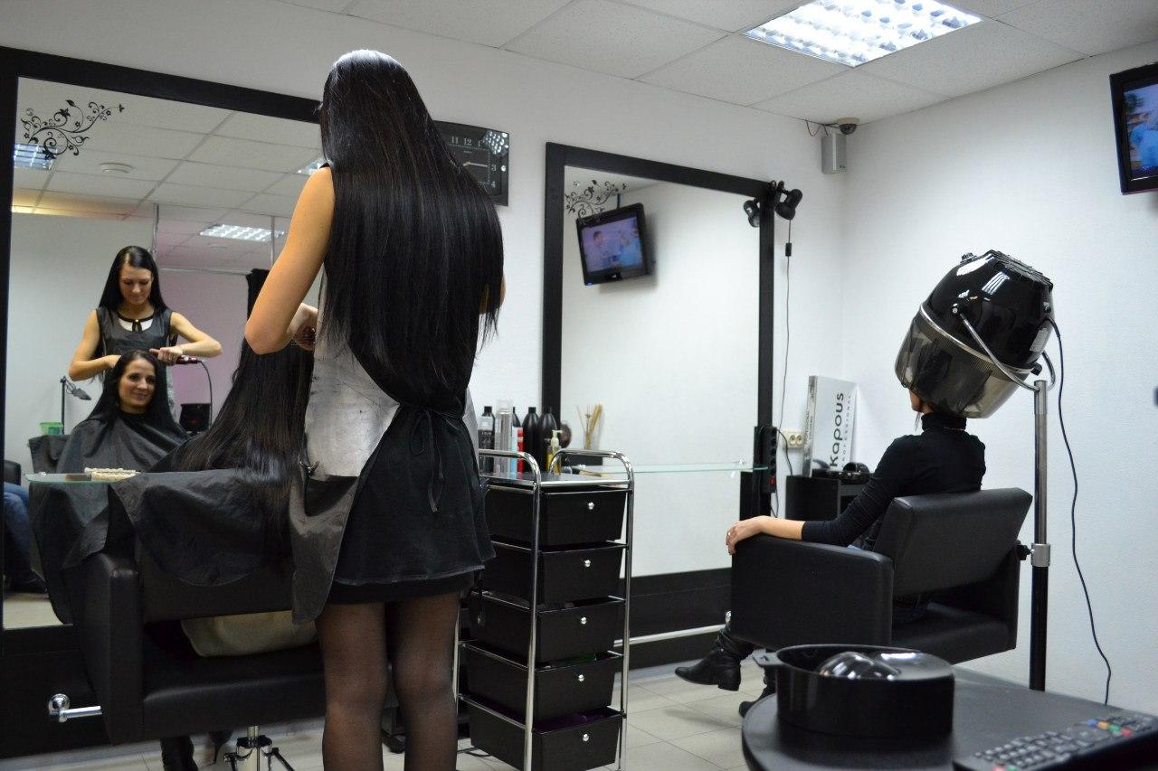 Трах в парикмахерской 5 фотография