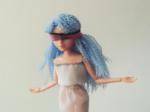 Как сделать парик для куклы мокси тинс