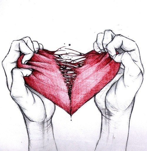 картинки моё сердце разбито
